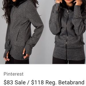 Betabrand Knockout Travel Hoodie
